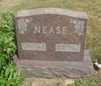 NEASE, TIMOTHY M. - Meigs County, Ohio | TIMOTHY M. NEASE - Ohio Gravestone Photos