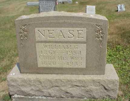 NEASE, CORA - Meigs County, Ohio | CORA NEASE - Ohio Gravestone Photos