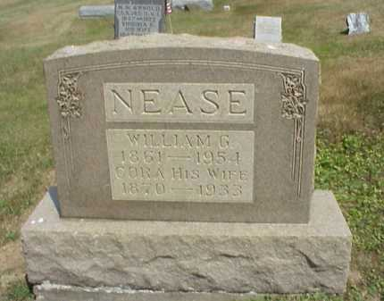 NEASE, CORA - Meigs County, Ohio   CORA NEASE - Ohio Gravestone Photos