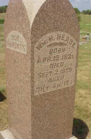 NEASE, WM. H. - Meigs County, Ohio | WM. H. NEASE - Ohio Gravestone Photos