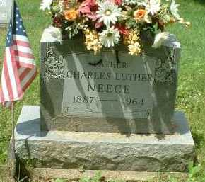 NEECE, CHARLES LUTHER - Meigs County, Ohio   CHARLES LUTHER NEECE - Ohio Gravestone Photos