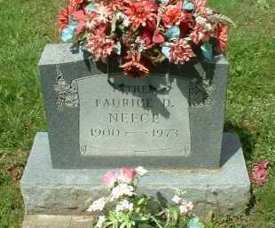 NEECE, FAURICE D. - Meigs County, Ohio | FAURICE D. NEECE - Ohio Gravestone Photos