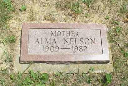 NELSON, ALMA - Meigs County, Ohio   ALMA NELSON - Ohio Gravestone Photos
