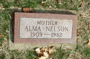 NELSON, ALMA - Meigs County, Ohio | ALMA NELSON - Ohio Gravestone Photos