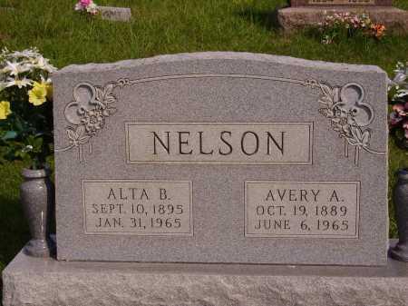 NELSON, AVERY A. - Meigs County, Ohio   AVERY A. NELSON - Ohio Gravestone Photos