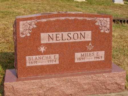 NELSON, MILES E. - Meigs County, Ohio | MILES E. NELSON - Ohio Gravestone Photos