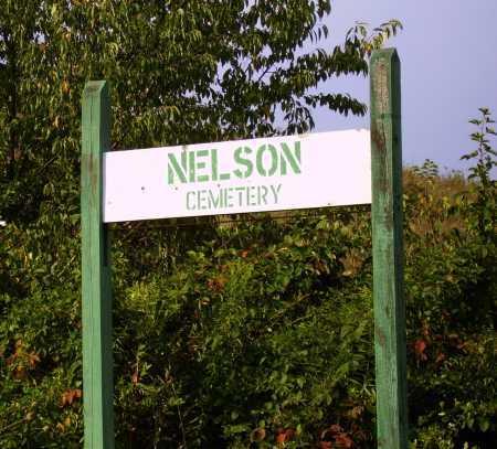 NELSON, CEMETERY SIGN - Meigs County, Ohio | CEMETERY SIGN NELSON - Ohio Gravestone Photos