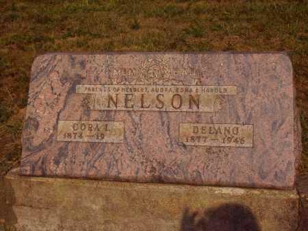 HAMPTON NELSON, CORA I. - Meigs County, Ohio | CORA I. HAMPTON NELSON - Ohio Gravestone Photos