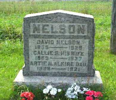 "SAXTON NELSON, CAROLYN ""CALLIE"" - Meigs County, Ohio | CAROLYN ""CALLIE"" SAXTON NELSON - Ohio Gravestone Photos"