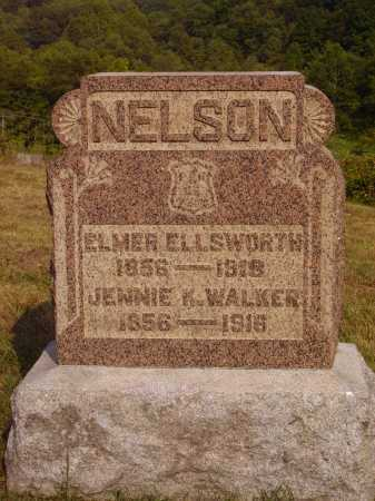 NELSON, ELMER ELLSWORTH - Meigs County, Ohio | ELMER ELLSWORTH NELSON - Ohio Gravestone Photos