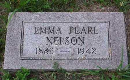 NELSON, EMMA PEARL - Meigs County, Ohio   EMMA PEARL NELSON - Ohio Gravestone Photos