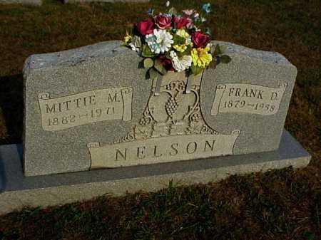 OGDIN NELSON, MITTIE M. - Meigs County, Ohio   MITTIE M. OGDIN NELSON - Ohio Gravestone Photos