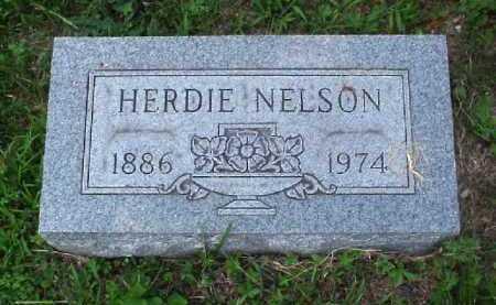 NELSON, HERDIE - Meigs County, Ohio | HERDIE NELSON - Ohio Gravestone Photos