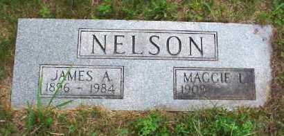 NELSON, MAGGIE L. - Meigs County, Ohio   MAGGIE L. NELSON - Ohio Gravestone Photos