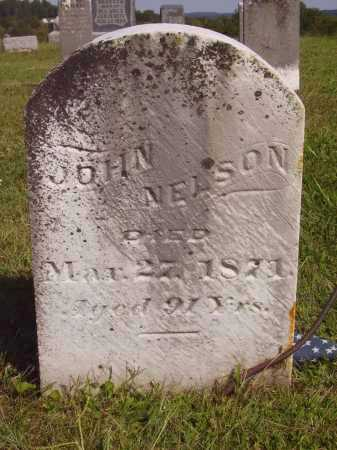 NELSON, JOHN - Meigs County, Ohio | JOHN NELSON - Ohio Gravestone Photos