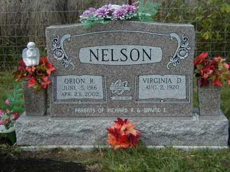 NELSON, VIRGINIA DELL - Meigs County, Ohio | VIRGINIA DELL NELSON - Ohio Gravestone Photos