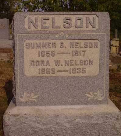 NELSON, DORA W. - Meigs County, Ohio | DORA W. NELSON - Ohio Gravestone Photos