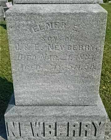 NEWBERRY, ELMER E. - Meigs County, Ohio | ELMER E. NEWBERRY - Ohio Gravestone Photos