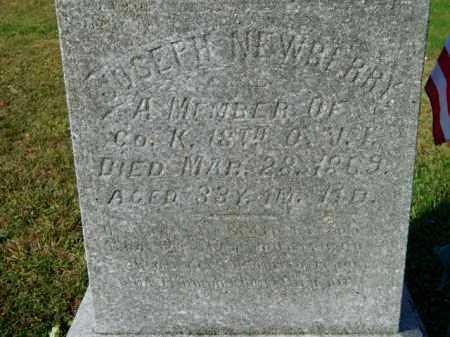 NEWBERRY, JOSEPH - Meigs County, Ohio   JOSEPH NEWBERRY - Ohio Gravestone Photos