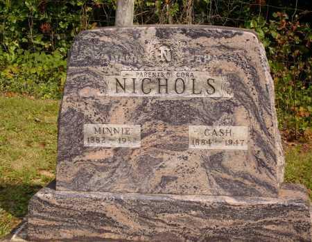 STRONG NICHOLS, MINNIE - Meigs County, Ohio | MINNIE STRONG NICHOLS - Ohio Gravestone Photos