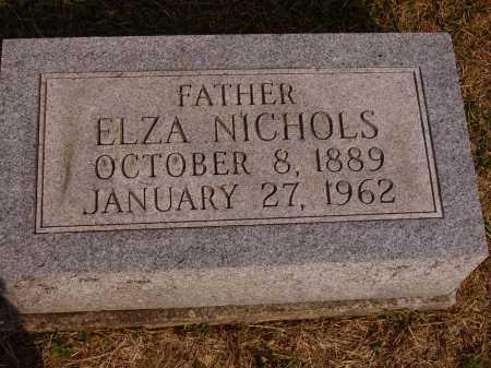 NICHOLS, ELZA - Meigs County, Ohio   ELZA NICHOLS - Ohio Gravestone Photos