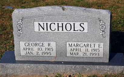 NICHOLS, MARGARET E. - Meigs County, Ohio | MARGARET E. NICHOLS - Ohio Gravestone Photos