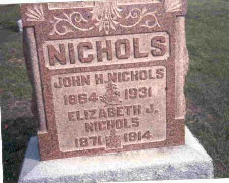 NICHOLS, ELIZABETH - Meigs County, Ohio | ELIZABETH NICHOLS - Ohio Gravestone Photos