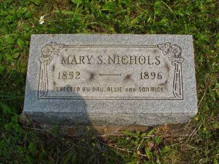 NICHOLS, MARY S. - Meigs County, Ohio | MARY S. NICHOLS - Ohio Gravestone Photos