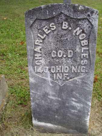 NOBLES, CHARLES B. - Meigs County, Ohio | CHARLES B. NOBLES - Ohio Gravestone Photos