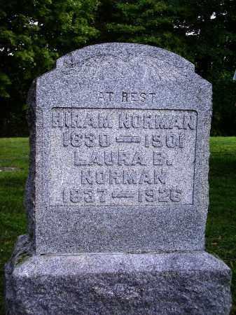 NORMAN, LAURA B. - Meigs County, Ohio | LAURA B. NORMAN - Ohio Gravestone Photos