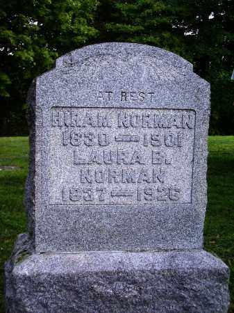 NORMAN, HIRAM - Meigs County, Ohio | HIRAM NORMAN - Ohio Gravestone Photos