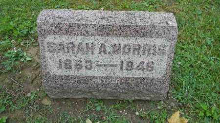 MATLACK NORRIS, SARAH A. - Meigs County, Ohio | SARAH A. MATLACK NORRIS - Ohio Gravestone Photos