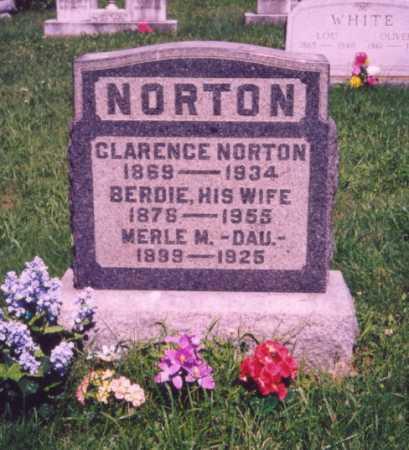 NORTON, MERLE M. - Meigs County, Ohio | MERLE M. NORTON - Ohio Gravestone Photos