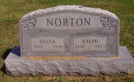 NORTON, DELLA - Meigs County, Ohio | DELLA NORTON - Ohio Gravestone Photos