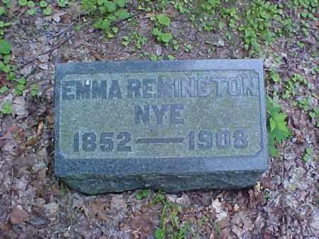 NYE, EMMA - Meigs County, Ohio | EMMA NYE - Ohio Gravestone Photos
