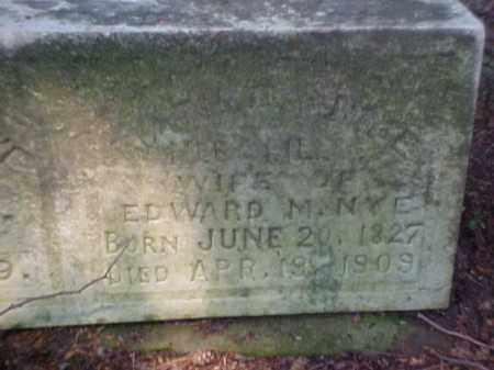 NYE, MATILDA - Meigs County, Ohio | MATILDA NYE - Ohio Gravestone Photos