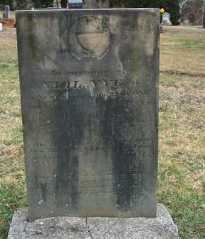 NYE, NIAL ESQ. - Meigs County, Ohio | NIAL ESQ. NYE - Ohio Gravestone Photos