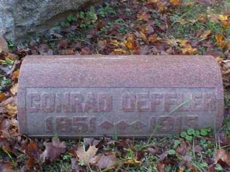 OEFFLER, CONRAD - Meigs County, Ohio   CONRAD OEFFLER - Ohio Gravestone Photos
