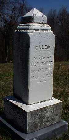OGDEN, ELLEN - Meigs County, Ohio | ELLEN OGDEN - Ohio Gravestone Photos