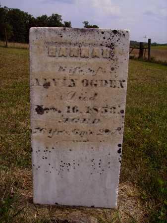 KELLER OGDEN, HANNAH - Meigs County, Ohio | HANNAH KELLER OGDEN - Ohio Gravestone Photos
