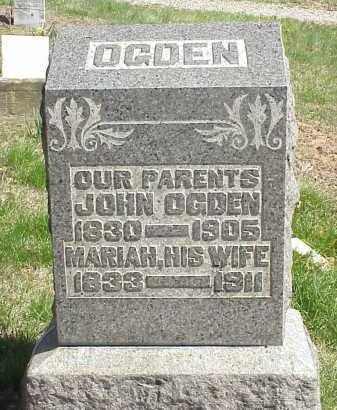 OGDEN, MARIAH - Meigs County, Ohio | MARIAH OGDEN - Ohio Gravestone Photos