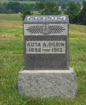 OGDIN, AUTA A. - Meigs County, Ohio | AUTA A. OGDIN - Ohio Gravestone Photos