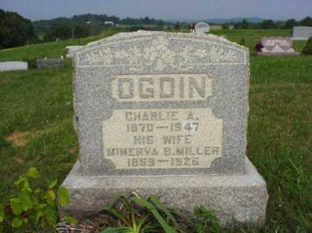 MILLER OGDIN, MINERVA B. - Meigs County, Ohio | MINERVA B. MILLER OGDIN - Ohio Gravestone Photos