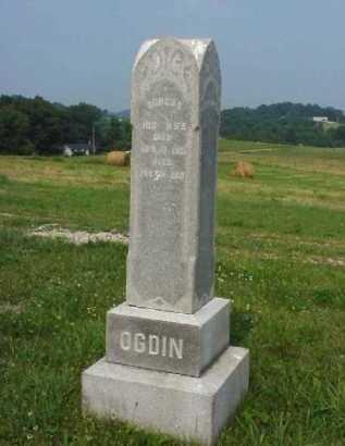 OGDIN, DORCUS - Meigs County, Ohio   DORCUS OGDIN - Ohio Gravestone Photos