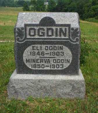 OGDIN, MINERVA - Meigs County, Ohio   MINERVA OGDIN - Ohio Gravestone Photos