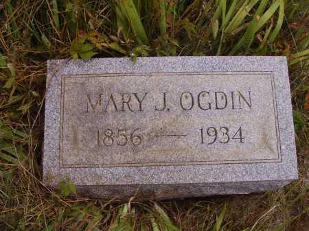 OGDIN, MARY J. - Meigs County, Ohio   MARY J. OGDIN - Ohio Gravestone Photos