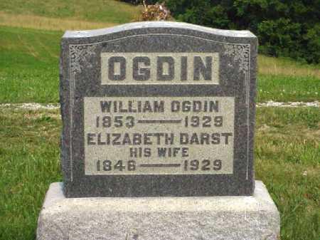 DARST OGDIN, ELIZABETH - Meigs County, Ohio   ELIZABETH DARST OGDIN - Ohio Gravestone Photos