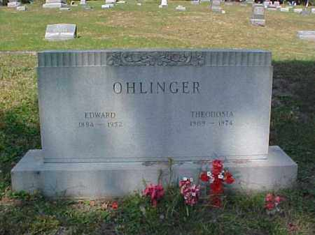 OHLINGER, EDWARD - Meigs County, Ohio | EDWARD OHLINGER - Ohio Gravestone Photos
