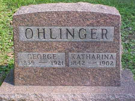 OHLINGER, GEORGE - Meigs County, Ohio | GEORGE OHLINGER - Ohio Gravestone Photos