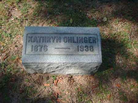 OHLINGER, KATHRYN - Meigs County, Ohio | KATHRYN OHLINGER - Ohio Gravestone Photos